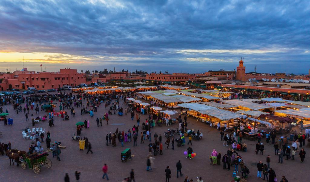 Marrakech-Jemaa-El-Fnaa