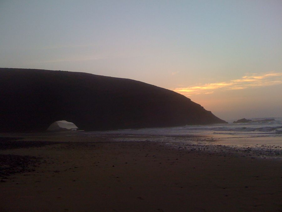 Playa-Legzira-atardecer